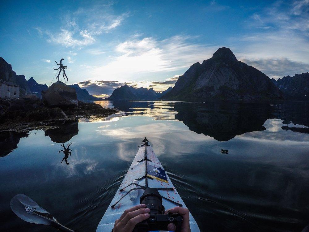 Reinefjord GoPRO Shot By Tfbergen
